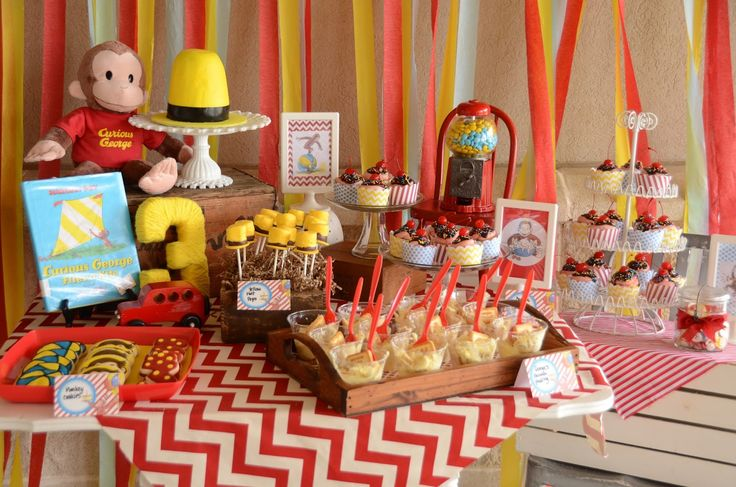 The Howard Family Blog: Kennedie's Curious George Party