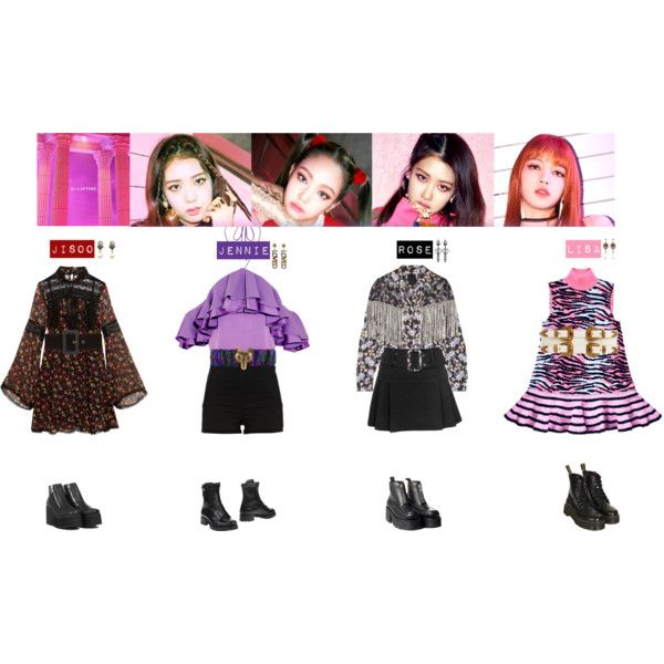 BLACKPINK - AS IF IT'T YOUR LAST❤️ by vvvan99 on Polyvore featuring mode, Anna Sui, Emilio Pucci, River Island, Topshop, UNIF, Dsquared2, Gucci, Valentino and Tarina Tarantino