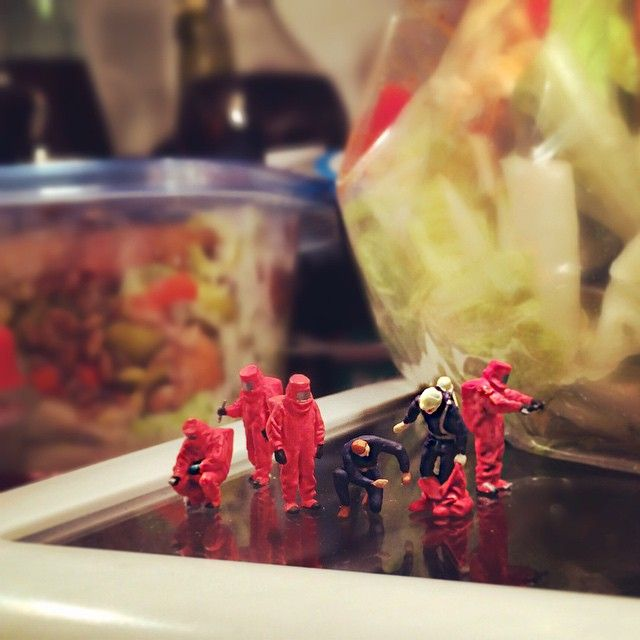 """Office fridge cleaning day.""  http://marsder.tumblr.com/"