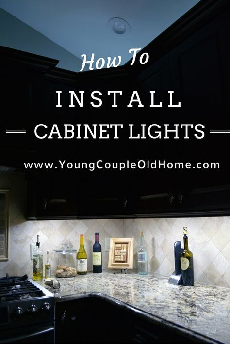 How To Install Yourself Both Under & Over Cabinet Lighting: Save those holiday lights! Keep reading on how to install EASY and CHEAP cabinet lighting in your kitchen, yourself! For theabove cabinet lighting, we used LED white holiday lights (as seen in the above picture) and synced it on a timer. Wentop 10M 33FT …