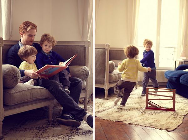 Casual family portraits...really like the idea of shooting at the home