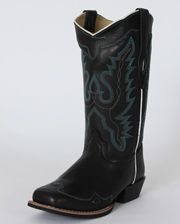 Smoky Mountain Ladies' Augusta Black Western Boots - www.fortwestern.com