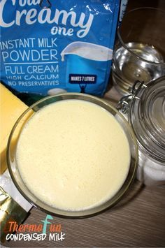 """I just love this recipe – it's just like having condensed milk """"on tap"""" as whenever I want it I can just whip it up in 6 mins! (Yes, a bit dangerous I know!) Much quicker and cheaper than going to the shop to get some if I've run out. With many thanks to Maryanne …"""