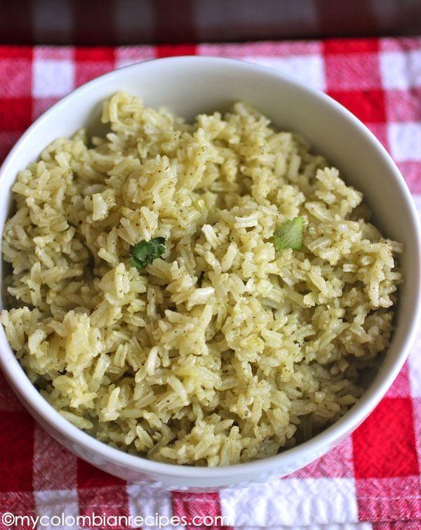 Arroz con Cilantro (Cilantro Rice)