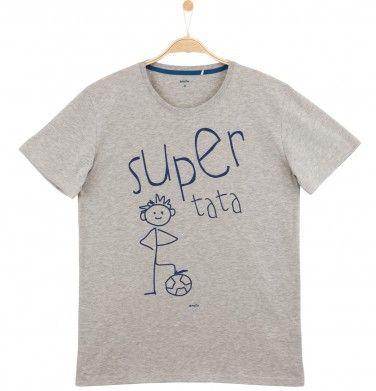 T-shirt męski Q61G048_1