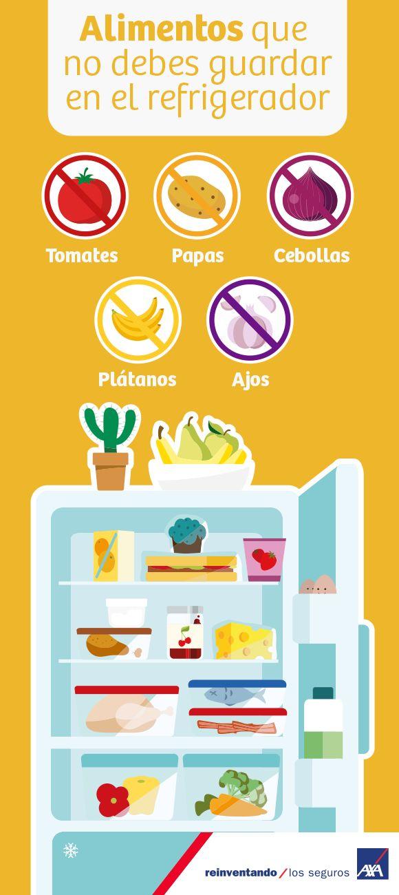 No todas las formas de conservación de los alimentos son iguales. Te enlistamos algunos que no necesitan refrigeración. #salud #alimentos