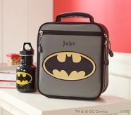 Batman lunch box. He would love this!