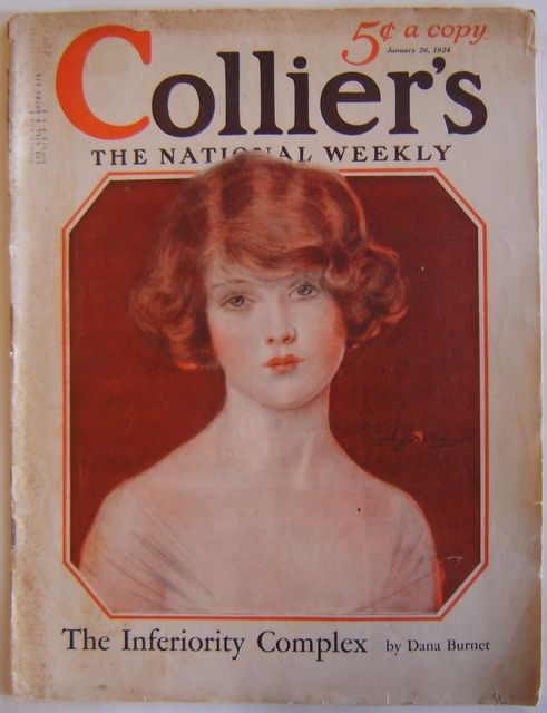 1924 COLLIER'S MAGAZINE~PENRHYN STANLAWS Woman cover~34 Pages