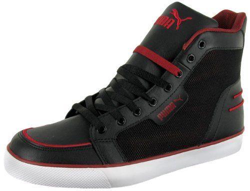 PUMA Hooper Mid Mens Basketball Inspired Mesh High Top Sneakers Shoes Puma. $39.99