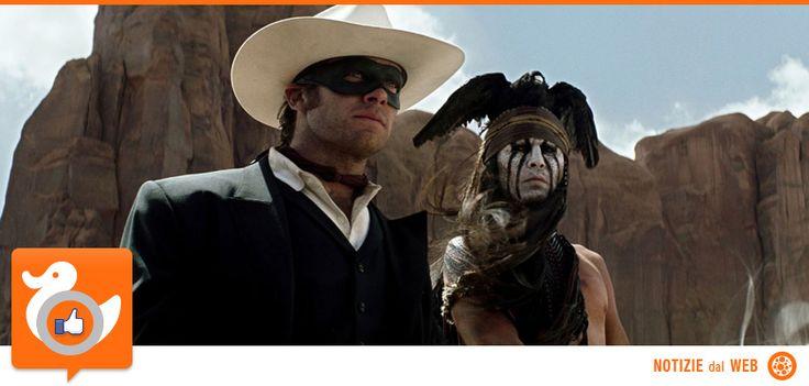 THE LONE RANGER   The Lone Ranger è un film d'avventura intriso di azione e humour, in cui il famoso eroe mascherato torna a rivivere attraverso nuovi occhi. Il guerriero indiano Tonto racconta la storia di John Reid, uomo di legge che divenne leggenda, trascinando il pubblico in un'avventura fatta di imprese epiche e rocambolesche, vissute dai due eroi impegnati nella lotta all'avidità e alla corruzione... http://www.comingsoon.it/Film/Scheda/Video/?key=48920-11365