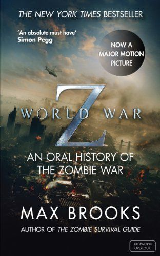 World War Z by Max Brooks, http://www.amazon.com.au/dp/B003WE9TU8/ref=cm_sw_r_pi_dp_qfWyvb1AS1M6G