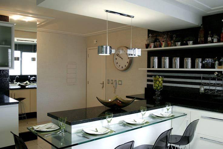 31 cozinhas americanas projetadas por profissionais do CasaPRO # Bancada Cozinha Modular