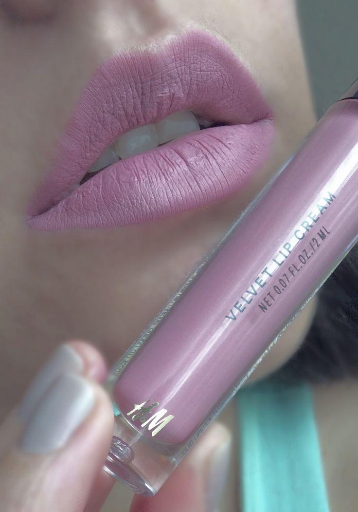 H&M velvet lip cream in enchanted