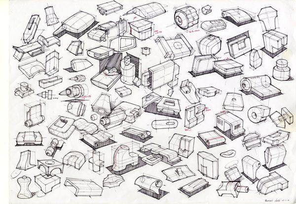 Thumbnail sketch on Behance