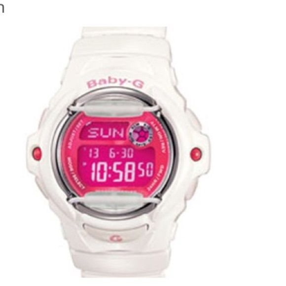 G Shock - Baby G  1 hour sale ! Casio G Shock - baby G pink/ white USED ( trade ?) G-Shock Accessories Watches