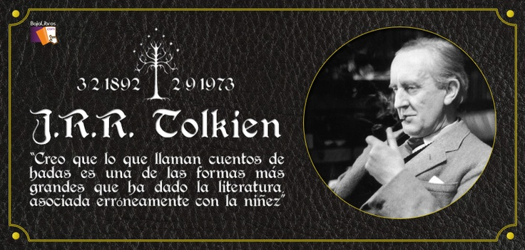 J.R.R. Tolkien would turn 121 today!