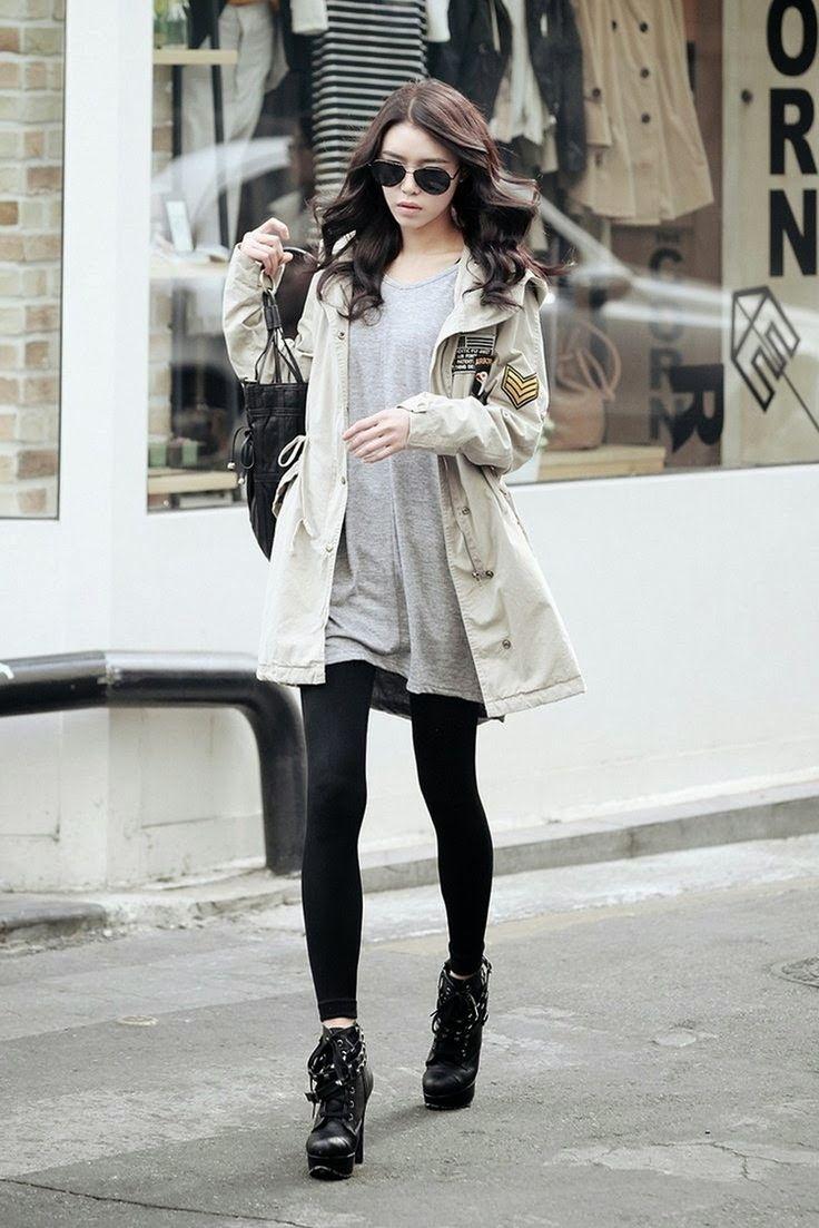 korean winter clothing fashion fashion fashion korean. Black Bedroom Furniture Sets. Home Design Ideas