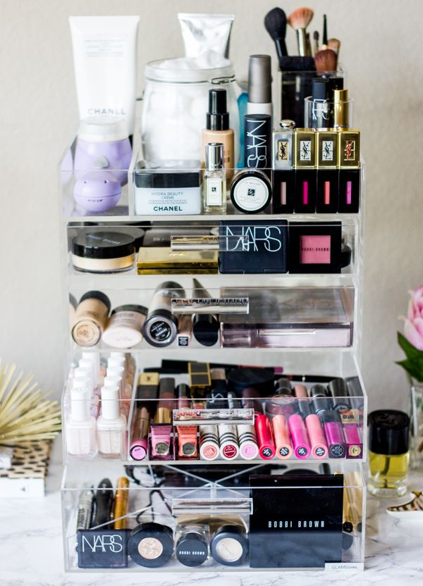 Mirrored and brass and lucite, oh my!…