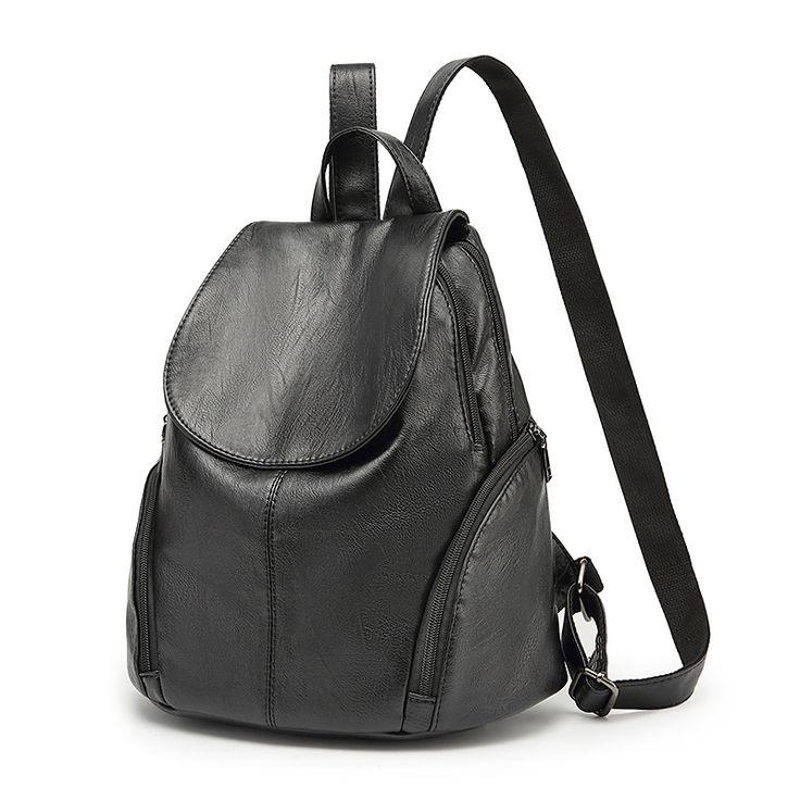 Новый 2017 Натуральная кожа женщин Рюкзаки винтажные высокое качество женские сумки рюкзаки для девочек подростков школьные сумки C262 купить на AliExpress
