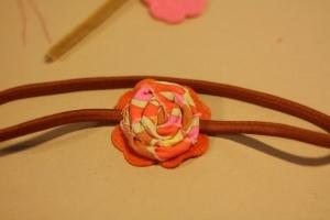 Rosette Headband Tutorial