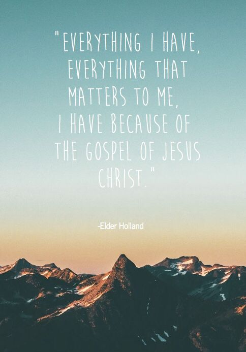 Elder Holland                                                                                                                                                      More
