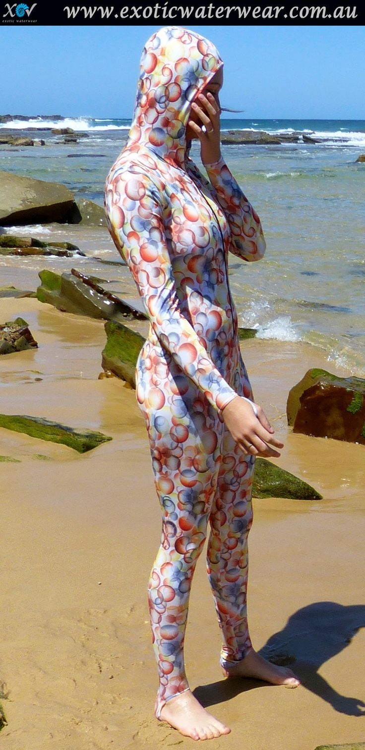 Check out the coolest sunprotection! Buy stingersuits with style www.exoticwaterwear.com.au