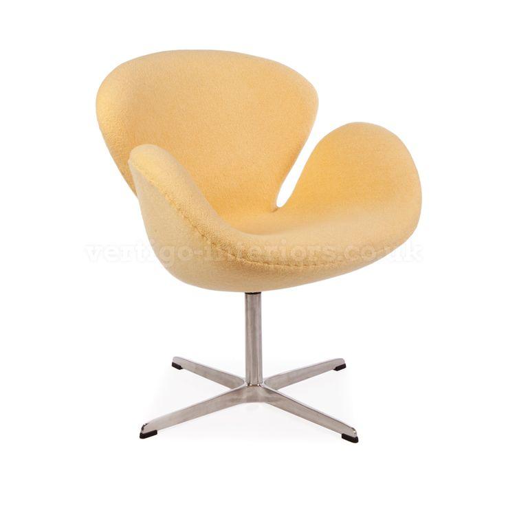 Superbe Arne Jacobsen Swan Chair   Mustard Wool U003e Arne Jacobsen U003e Designer   Vertigo  Interiors