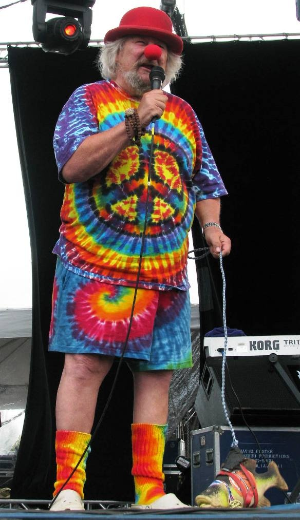 Wavy Gravy, Master of Ceremonies at Gathering of the Vibes