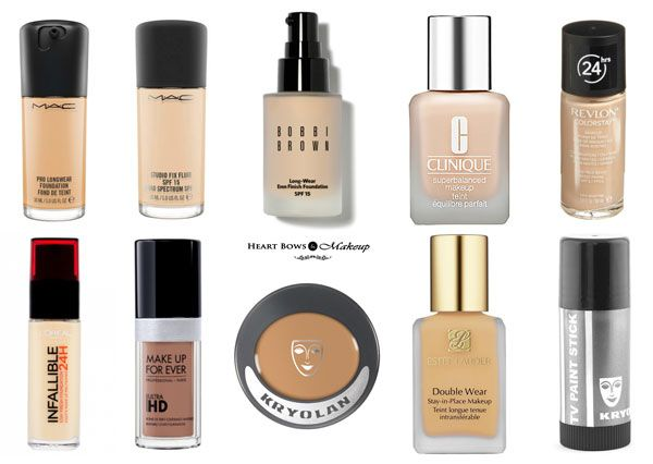 10 Best High Coverage Foundations Dry Oily Skin