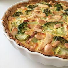 Tærte er ikke kun nemt men smager også rigtig godt og fungerer perfekt til både aftensmad og madpakken. Så her er en lækker og nem opskrift på kyllingetærte som desuden er glutenfri.