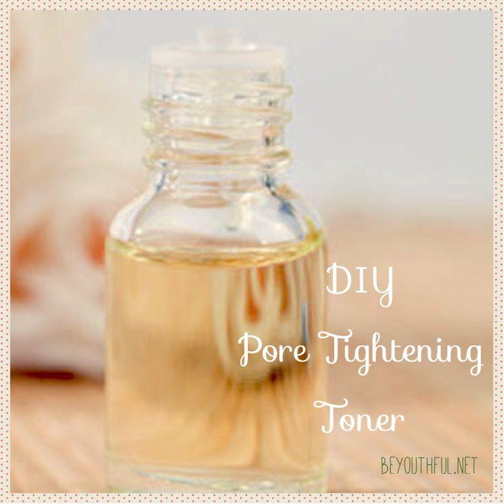 diy pore tightening toner