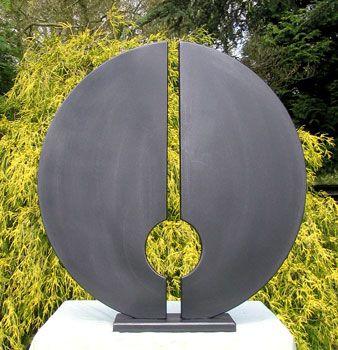 abstract art for the garden.exterior sculpture