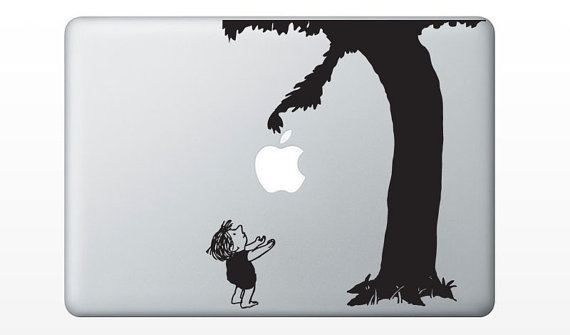 The Giving Tree Laptop Notebook Decal