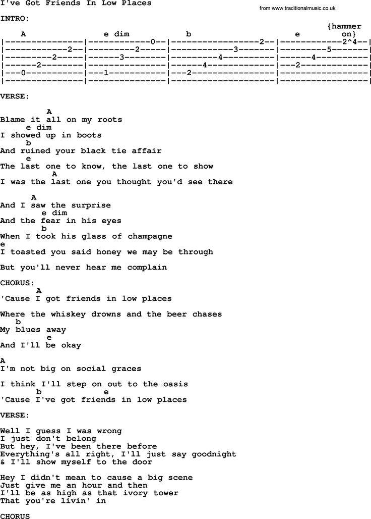 meet your mom garth brooks chords and lyrics