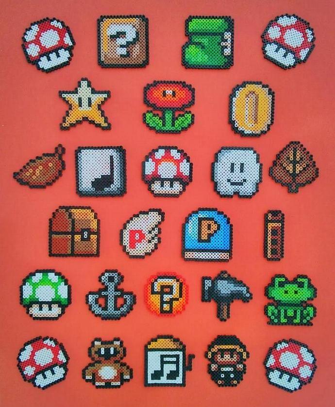 Super Mario Bros 3 Items/Power ups by Nerdlers, $6.00 USD