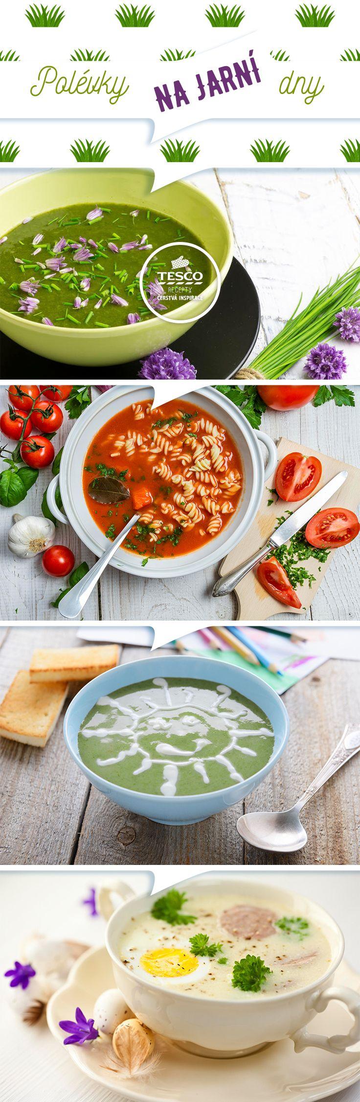 Inspirujte se na výborné jarní polévky