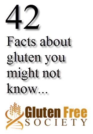 42 facts about gluten