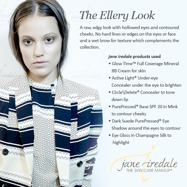 Follow the above steps with the skin care make up Jane Iredale ..... naturally beautiful!