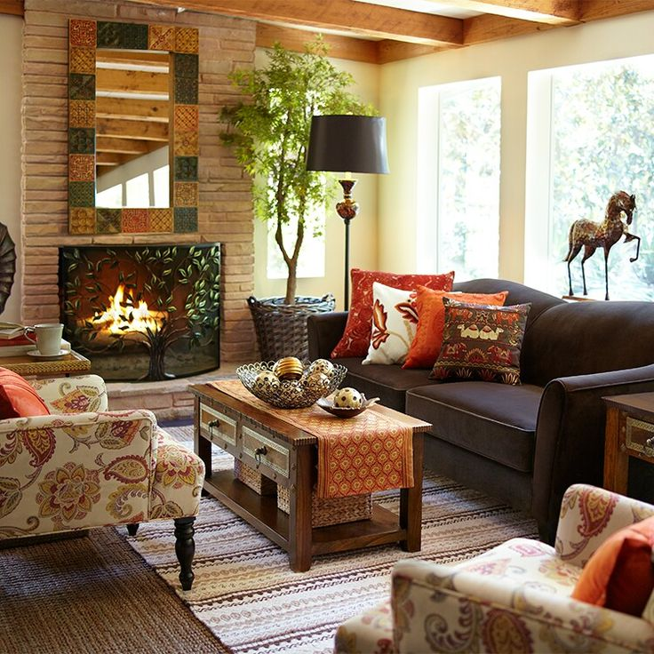 29 Cozy And Inviting Fall Living Room