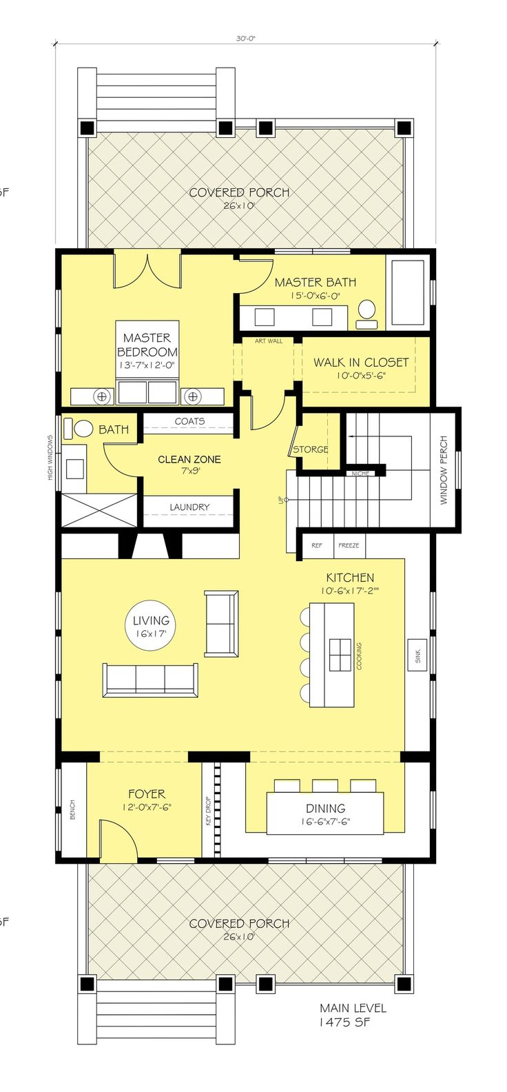 70 best great floor plans images on pinterest architecture craftsman style house plan 3 beds 3 baths 2206 sq ft plan 888