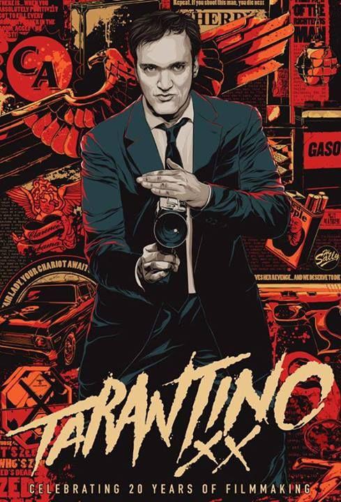 Ken Taylor on Tarantino //via www.nfgraphics.com/cartel-ken-taylor