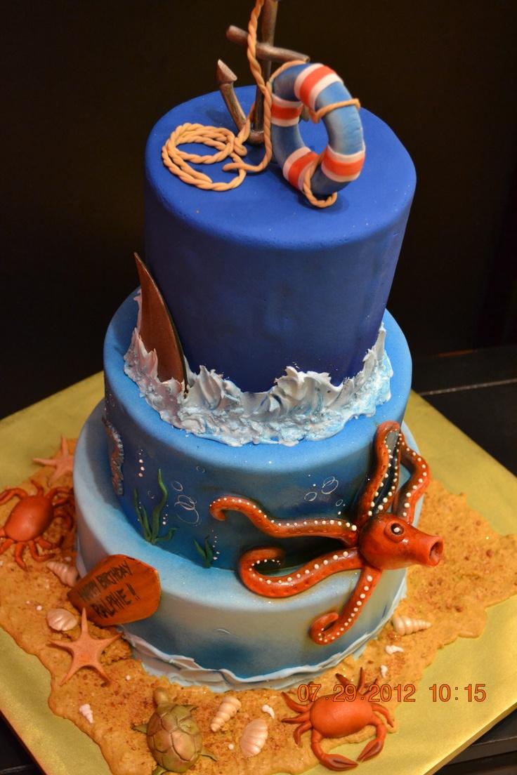 Ocean cake / Ralphie's 10 bday celebration
