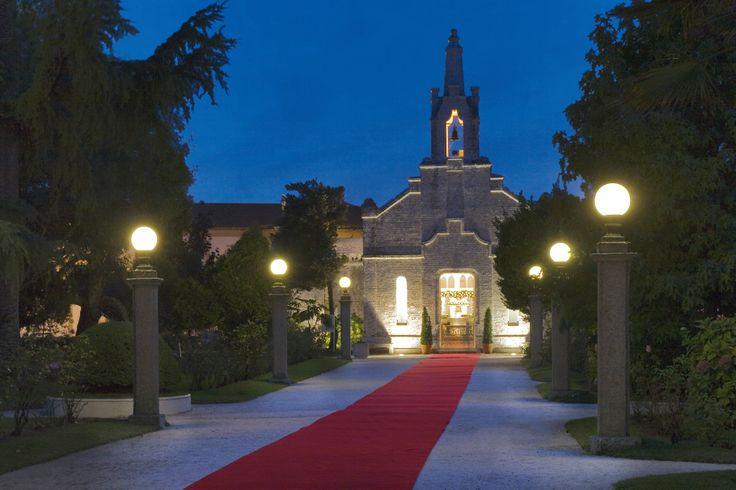 Capilla de las conchas en los jardines del gran hotel la for Capillas de velacion jardin de los pinos