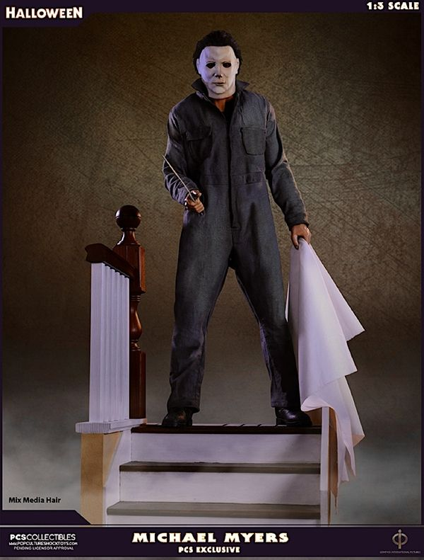 Halloween Michael Myers 1:3 Scale Statue From Pop Culture Shock