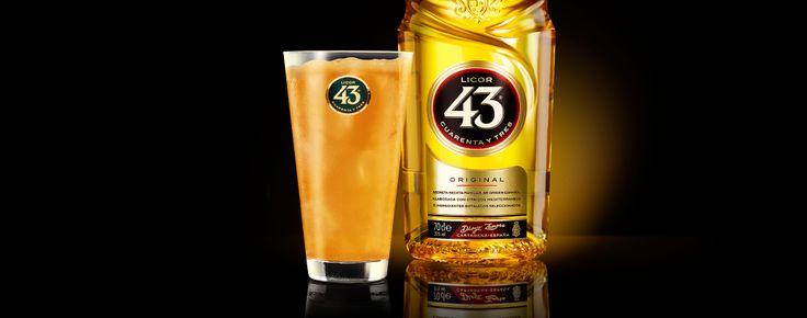 Likör 43 Cocktail - Maracuja - Likör 43 Kochbuch - Licor 43 Rezepte