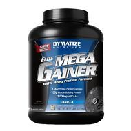 Elite Mega Gainer 20 servings - Dymatize - Gainer, Ganador de peso