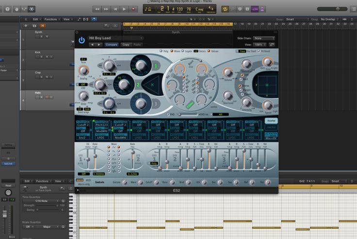 Create a thick and dirty hoover synth lead like Hit Boy, Polow Da Don and Danja – BLOG. – If you've been listening to a lot of Hit Boy, Polow Da Don and Danja records, you will notice a low, warm sawtooth lead synth. The ES2, is actually the perfect synth to get that sound… quickly. Follow the next 5 steps to make a hit record like... #danja #hitboysynthpresets #howtomakeahooverleadsynth