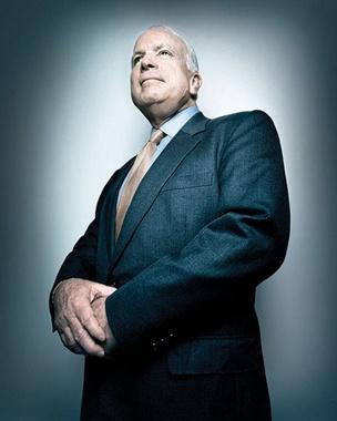 John Sidney McCain III, US Senator of Arizona.  2008 Repubican Presidential Nominee.  POW during the Vietnam War from 1967-1973