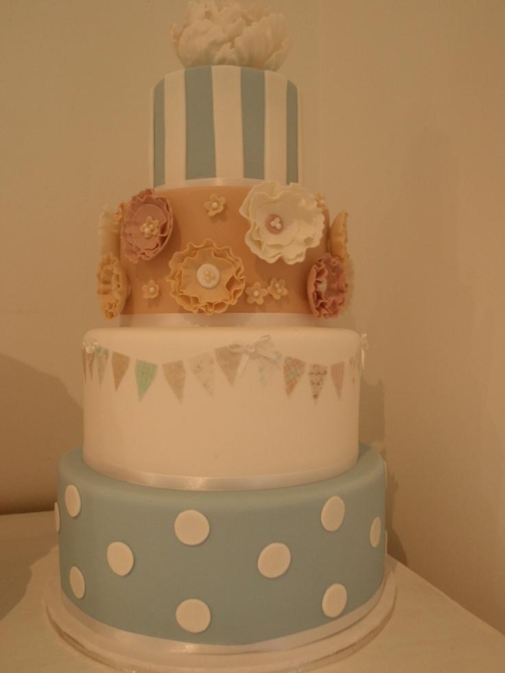 4 tr whimsical cake by Let Them Eat Cake Byron Bay, Australia