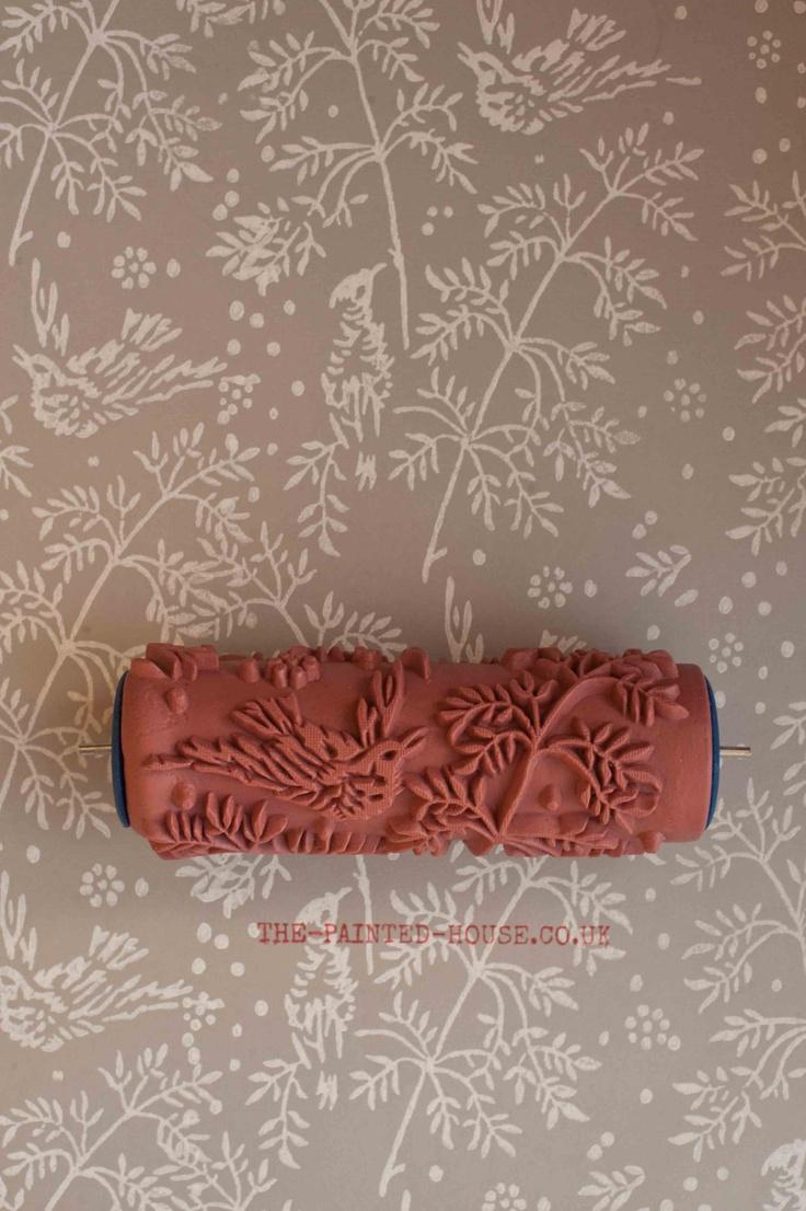 Patterned Paint Roller - Design No.1. ~$24.67, via Etsy. (15.00 Pounds)